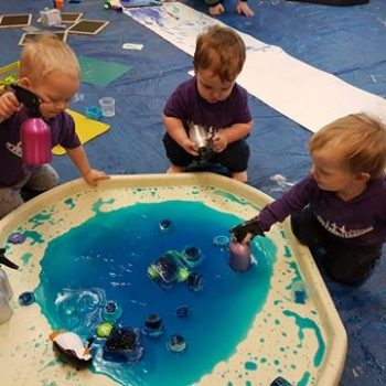Crook Messy Play