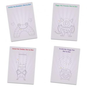 Dot to Dot Activity Sheets