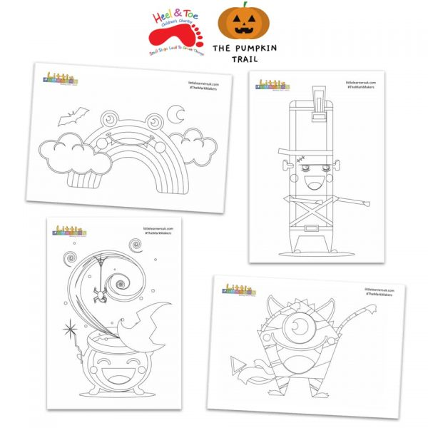 Halloween Colouring Sheets