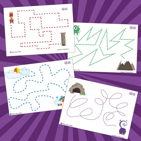 Stay Home Activity Sheets