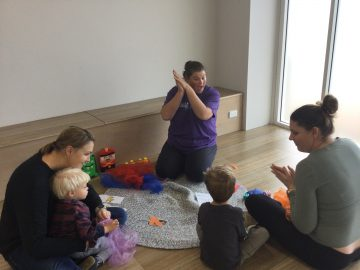 2+ playgroup class mat session