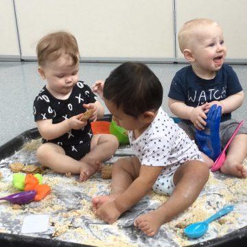 Taste safe baby trays